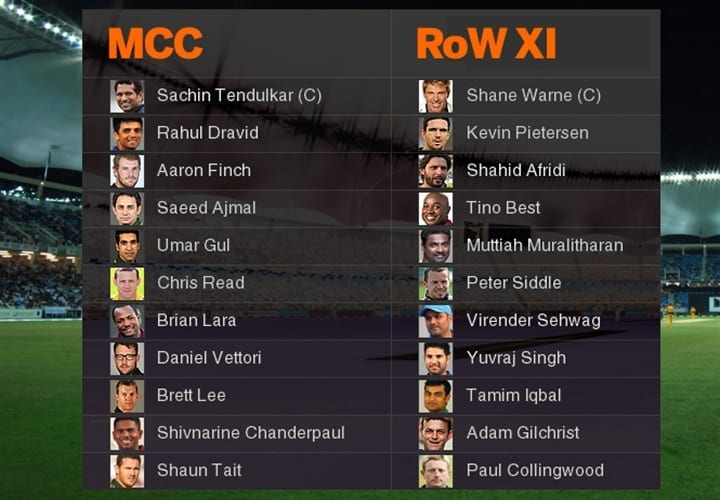 What happened when God played at Lords : MCC-XI vs ROW-XI
