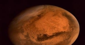 picture sent by isro of mars