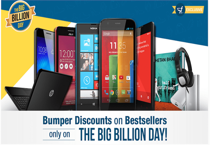 Mix Emotions Flown Through Out The Day With The Big Billion Sale From Flipkart