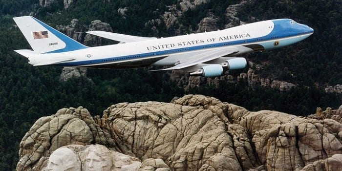 What is air force one ? Us President Air plane