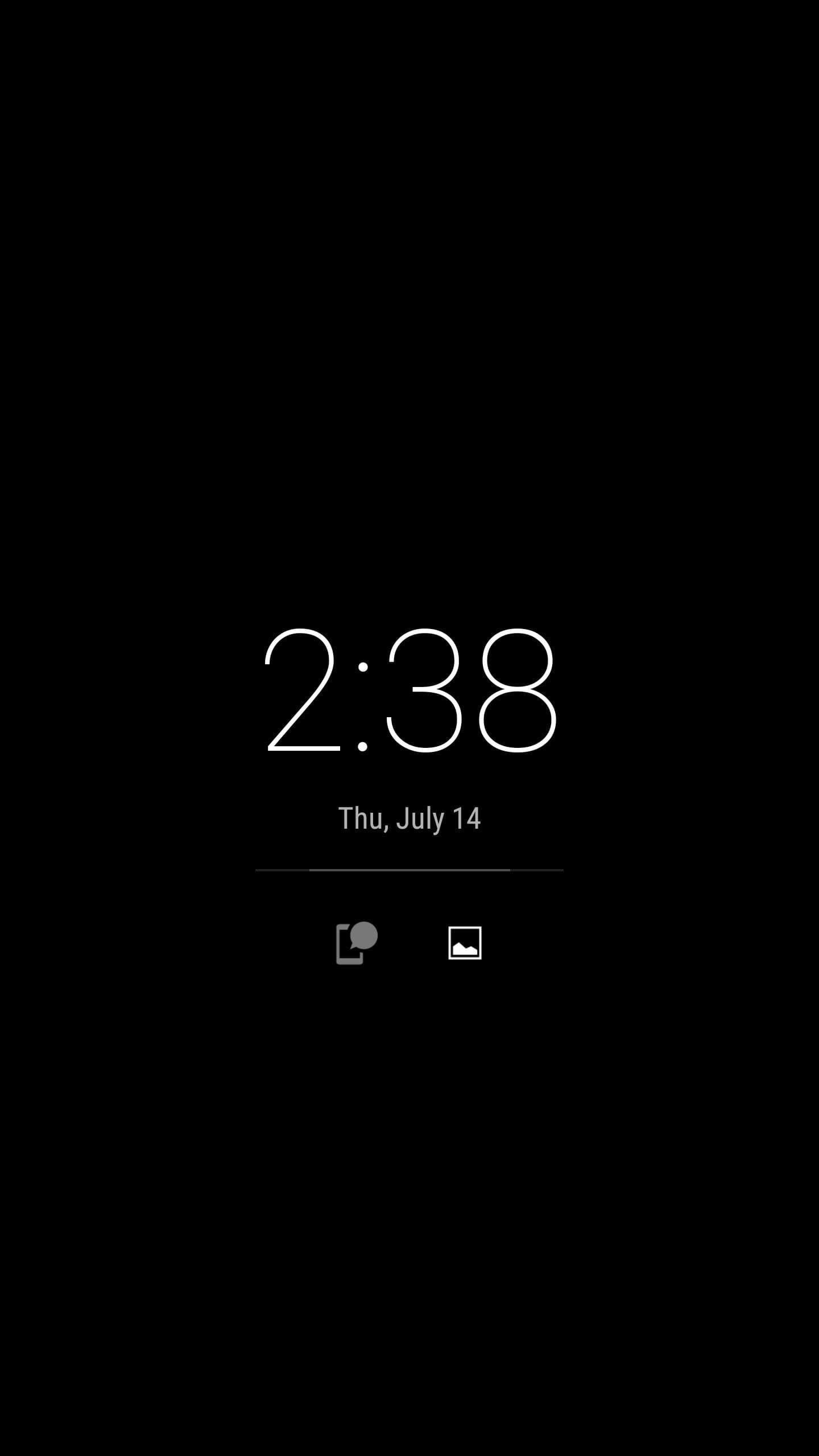 Try Lock Screen App For Android.