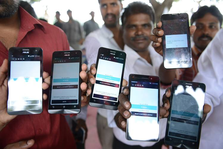 Uber passengers in India can now hail a cab without the app 1