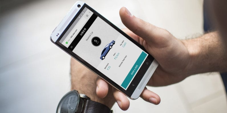 Uber passengers in India can now hail a cab without the app