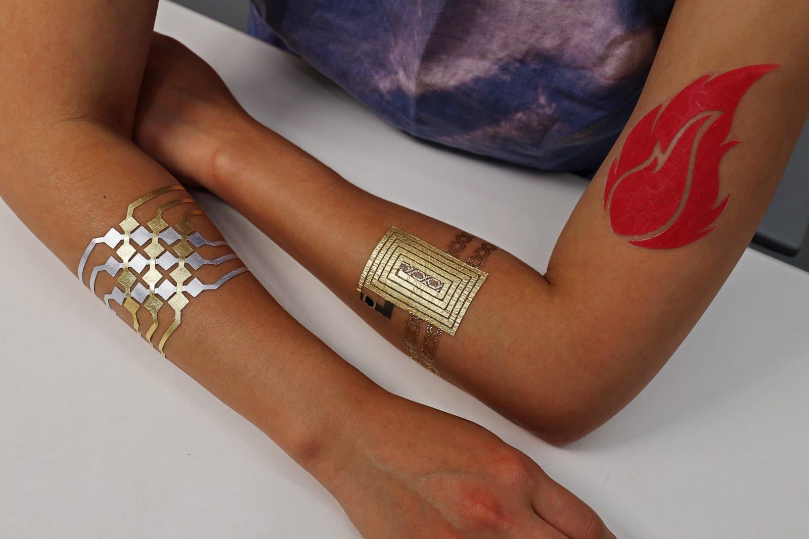 Temporary Tattoo Can Control Smartphone/Devices