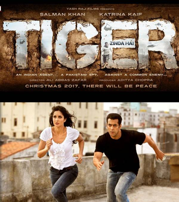 Salman And Katrina Are Back Together. First Poster Of 'Tiger Zinda Hai'