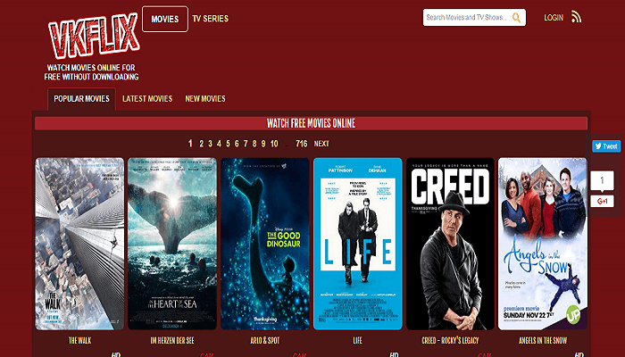 Watch Movies Online For Free On These Websites