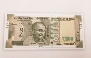 new note of 500 rupees