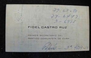 fidel-castro-business-cards
