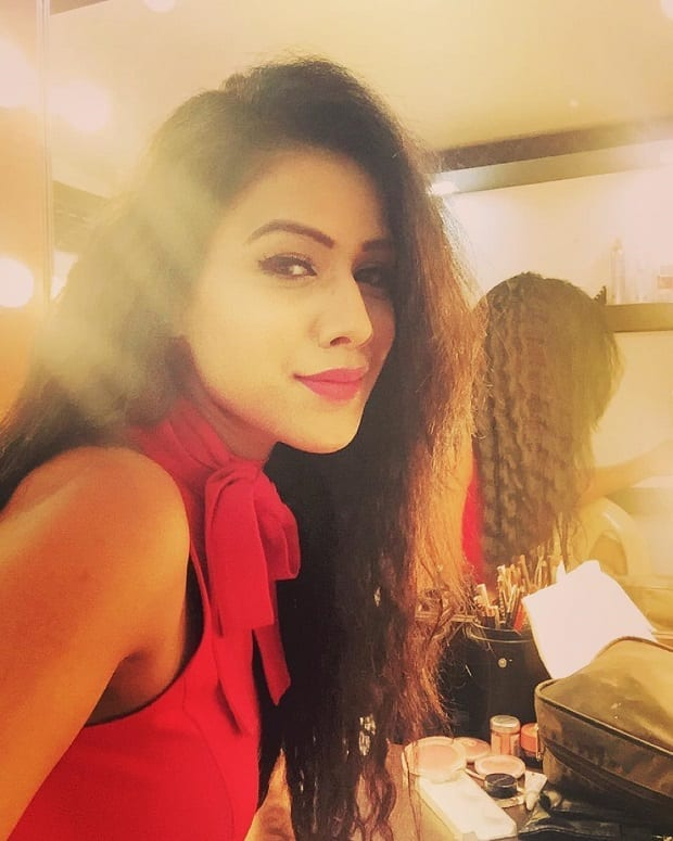 Nia Sharma , a tv actress and asia's 3rd sexiest women